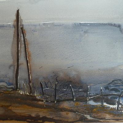 Island Brush Strokes @Quarr Abbey Ryde