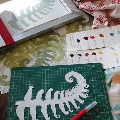 Introduction to Screenprinting Textiles