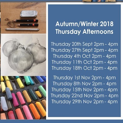Cowes Library Drawing Group Autumn/Winter - Thursday afternoons