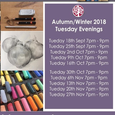 Cowes Library Drawing Group Autumn/Winter - Tuesday evenings