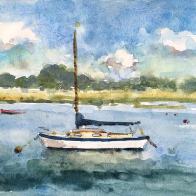 Becky Samuelson Watercolour workshop 'Harbour life'