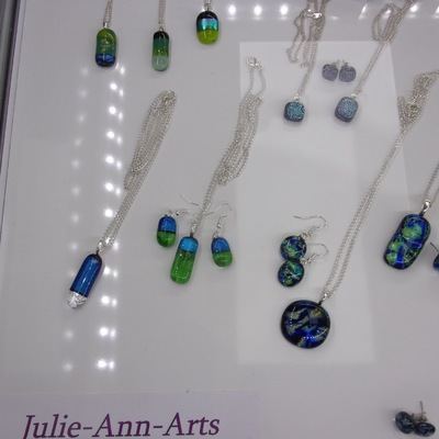 Carisbrooke Castle Christmas Market - Silver Jewellery and Fused Glass Jewellery