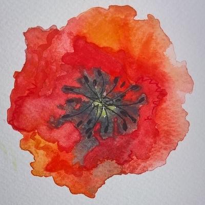 'Paint a Poppy Remembrance Exhibition'