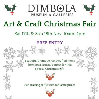 Dimbola Art and Craft Christmas Fair