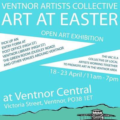 Art at Easter, Open Exhibition, Ventnor Arts Collective