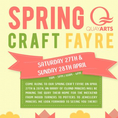Spring Fair at the Quay Arts
