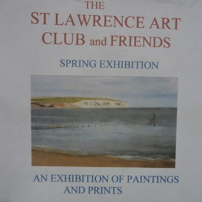 St Lawrence Art Club and Friiends at Ventnor Botanic Gardens