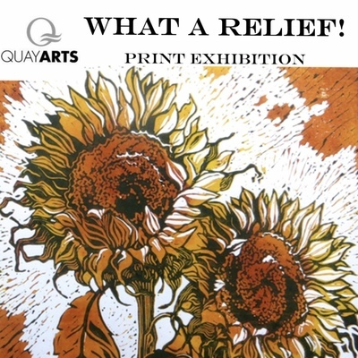 What a Relief. Printmaking exhibition