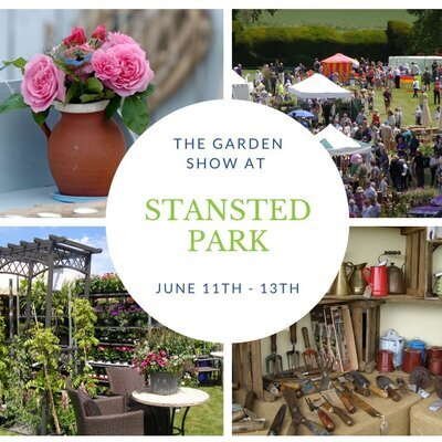 Julia Tanner Art exhibiting at The Garden Show, Stansted Park, Hampshire