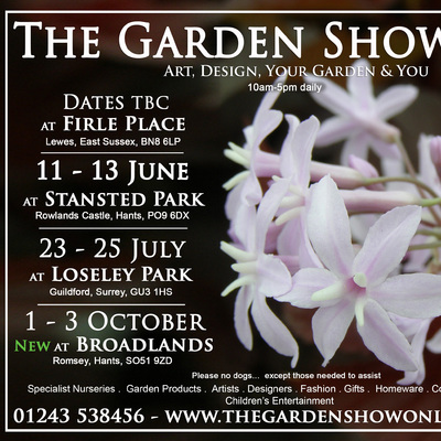 Julia Tanner Art Exhibiting at The Garden Show, Loseley Park, Guildford