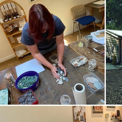 Creating Art with Sea Glass Workshop