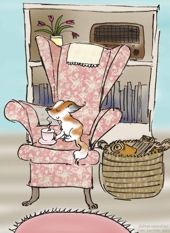 Afternoonsies...tea with Maisie