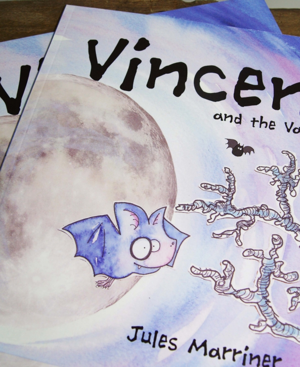 Vincent and the Vampires Children's Book
